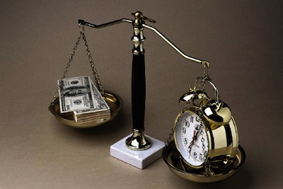 Balance money and time