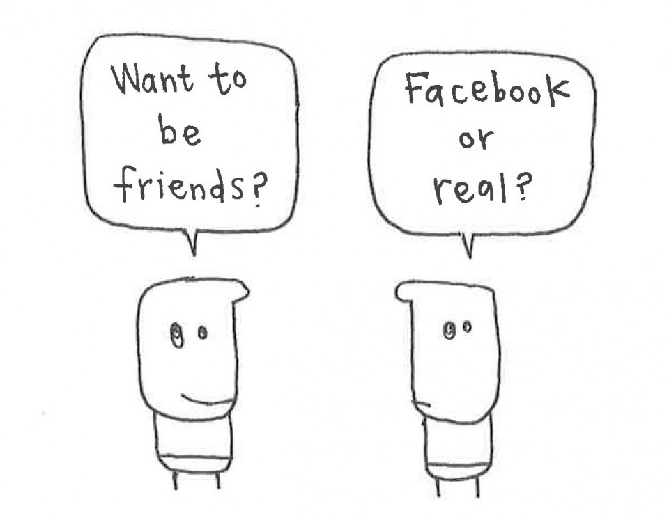 Facebook friends?
