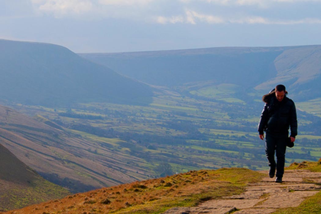 Lone Man In The Peaks | Photography