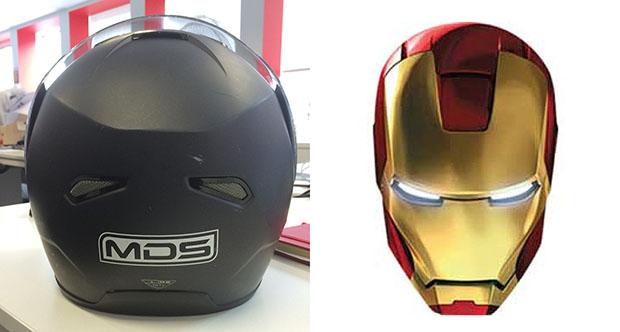Helmet ironman